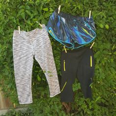 Here are 3 of my favorite bottoms!  The pink and grey Salar Capri is a perfect pop of color this time of year!  The Adrian Shorts have the cutest print and the style is perfect for my workouts!  The black Catalina Crop is such a good length in this warm weather and the zippers add some awesome style!  #UltimateSummer @Fabletics #ambsdr #fableticsfitsquad