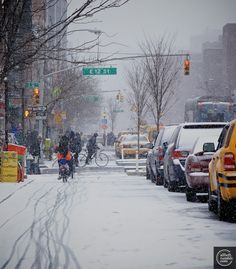 New York Obsession • newyorkersunposed: Anyone missing the snow ? By...