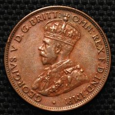 AUSTRALIA 1926 KING GEORGE V ONE HALF PENNY COIN USED RARE DATE - http://coins.goshoppins.com/world-coins/australia-1926-king-george-v-one-half-penny-coin-used-rare-date/