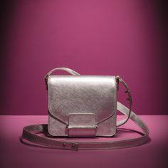 Silver mini bag, Loeffler Randall.