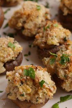 Boursin-Stuffed Mushrooms  - Delish.com