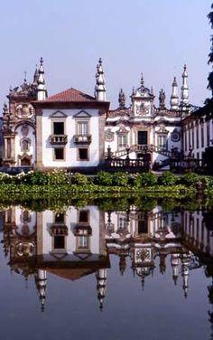 Vila Real (Portugal) Palais de Mateus