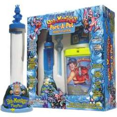 Sea Monkeys Port-A-Pet Playpen - FindGift.com Sea Monkeys, Barbie I, Playpen, Show And Tell, Arcade Games, Childhood, Aquariums, Pets, Life