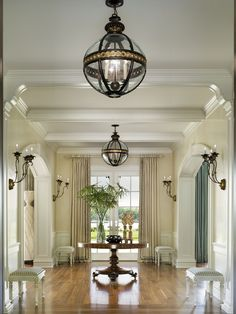 Traditional Entry Cased Arches Design - Must have our arches finished like these!!