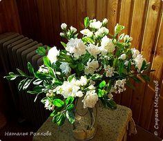 Флористика искусственная Свадьба Лепка жасмин хол фарфор Фарфор холодный фото 1