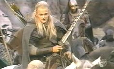 Legolas rides with Rohan Legolas, Tolkien, Elves, Woodland, Handsome, Ring, Fictional Characters, Rings, Jewelry Rings