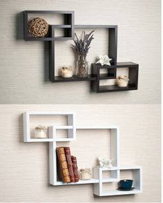Superior Display Your Favorite Photos Or Knick Knacks On This Laminate Decorative  Wall Shelf, Which Features Three Intersecting Cubbies. The Espresso Shelf,  Which Is ...