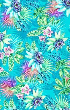 Flowers wallpaper for phone backgrounds iphone floral patterns 19 Super ideas Summer Wallpaper, Colorful Wallpaper, Flower Wallpaper, Screen Wallpaper, Pattern Wallpaper, Tropical Wallpaper, Room Wallpaper, Phone Backgrounds, Wallpaper Backgrounds
