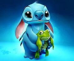 I Love Stitch he is sooo cute