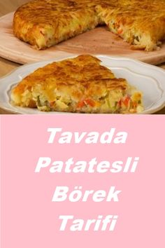 Tavada Patatesli Börek Tarifi – Diyet Yemekleri – The Most Practical and Easy Recipes Potato Recipes, Chicken Recipes, Easy Cooking, Cooking Recipes, Potato Fritters, Breakfast Tea, Best Dinner Recipes, Iftar, Beautiful Cakes