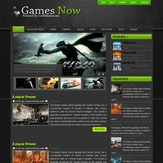 Games Now Blogger Template | DheTemplate