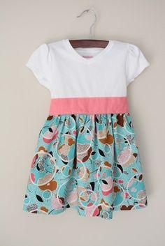 4ea73e9a3 The Easy Tee-Shirt Dress   Sewing fun   Shirt dress pattern, Shirt ...