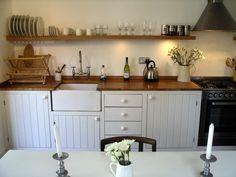 modern-rustic handmade kitchen - Peter Henderson Furniture, Brighton, UK