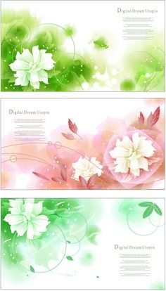 Dream bubble flower background Vector Graphic