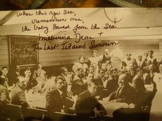 """Titanic Post Card Signed by Millvina Dean 