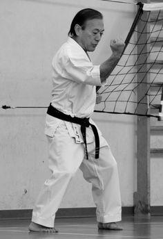 Kyudokan Higa Te Oscar Higa 10 Dan Okinawan Karate, Chinese Martial Arts, Art Poses, Kung Fu, Dan, Warriors, Samurai, Training, Workout