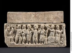 « Theusebios sarcophagus » sarcophagus for a child, 1st third of the 5th century., Berlin State Museums, Sculpture Collection and Museum of Byzantine Art, © bpk / Sculpture Collection and Museum of Byzantine Art, National Museums in Berlin / A. Voigt