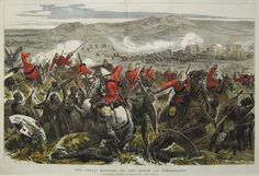 THE FINAL REPULSE OF THE ZULUS AT GINGHILOVO, 1879