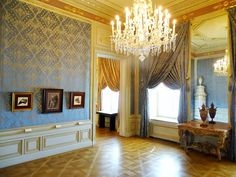 Spanish Apartments, Albertina State Rooms | Photo: 2016, © Albertina, Wien #AlbertinaStateRooms #AlbertinaPrunkräume Spanish Apartment, State Room, Valance Curtains, Apartments, Palace, Castle, Interiors, Home Decor, Restore