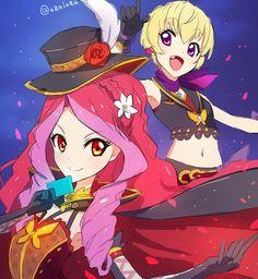 Yuu and Elza