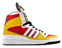 Adidas Originals vs. Jeremy Scott - JS Mickey HI