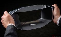 2017 Jaguar FUTURE-TYPE Concept - Sayer A.I. Steering Wheel