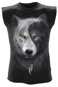 Spiral - Gothic Sleeveless Shirt - Wolf Chi