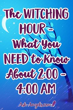 Pin now - Read Later: The Witching Hour - What You Need to Know About - AM Have you heard of the witching hour? The time between - AM when the veil is thin and the spritual realm more accessible? Find out what you need to know here. Psychic Development, Spiritual Development, Spiritual Guidance, Spiritual Awakening, Wiccan Spells, Healing Spells, White Magic, Practical Magic, Read Later