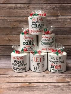 Christmas Crafts For Gifts For Adults Christmas Gifts For Adults, Cheap Christmas Gifts, Handmade Christmas Gifts, Diy Christmas Ornaments, Homemade Christmas, Diy Gift Ideas For Christmas, Funny Christmas Decorations, Holiday Gifts, Handmade Gifts