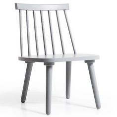 Wood loungestol H19, grå