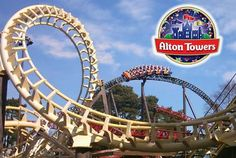 Alton Towers Theme Park (with the Merlin Annual Pass) Uk Summer Holidays, Summer Fun, Attraction, Best Amusement Parks, Thorpe Park, Park Around, Family Days Out, Travel And Tourism, Vacation Destinations