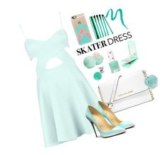 """""""Mint everything ☘"""" by casetify ❤ liked on Polyvore"""
