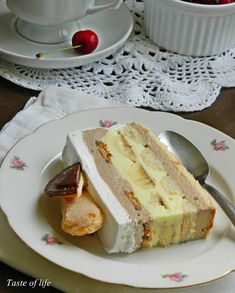 Taste of life: Anabela torta Torte Recepti, Kolaci I Torte, Sweet Desserts, Easy Desserts, Sweet Recipes, Baking Recipes, Cake Recipes, Dessert Recipes, Brze Torte