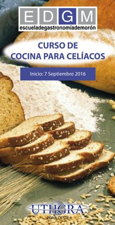 CURSO DE COCINA PARA CELÍACOS  www.escuelauthgramoron.com.ar Elaboración de todo tipo de productos libre de gluten, sin TACC. #CocinaparaCelíacos #EDGM #CursosCortosdeCocina #Gastronomía #Celíacos #ComidaLibredeGluten #TACC Sin Gluten, French Toast, Breakfast, Food, Gastronomia, August 27, Cooking, Products, Glutenfree