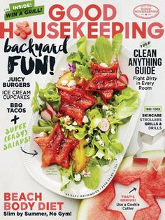 One of: Good Housekeeping,  Style at Home or  Canadian Living... All three are at this site with inexpensive pricing