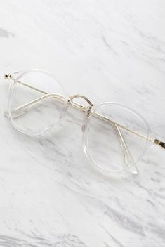 Transparent Frame Glasses #10-30 #meta-filter-color-white #shades