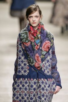 patchwork of roses Kenzo Fall 2009
