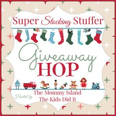 Super Stocking Stuffer Giveaway Hop | $10 PayPal or Amazon Gift Card Giveaway