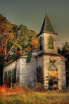"""Abandoned Church"" (Civil War Era) Church door Abandoned Church church old country churches Abandoned Buildings, Abandoned Mansions, Old Buildings, Abandoned Places, Haunted Places, Old Country Churches, Old Churches, Church Building, Chapelle"