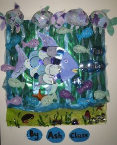 The Rainbow Fish classroom display photo - Photo gallery - SparkleBox