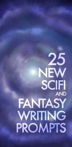 25 all new scifi and fantasy writing prompts — perfect for short stories, short films, full blown novels and screenplays or even just some quick flash fiction. It's all up to you, and as always, they're licensed under a Creative Commons license. Have fun and please share!