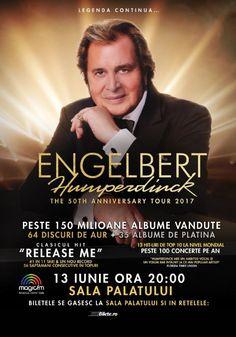 Engelbert Humperdinck Album, Concert, Movies, Movie Posters, Film Poster, Films, Popcorn Posters, Film Books, Concerts