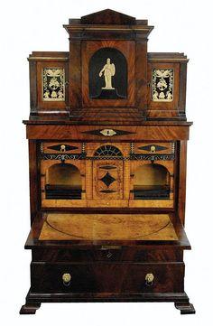 Biedermeier style desk