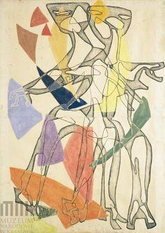 Maria Jarema, figury on ArtStack #maria-jarema #art