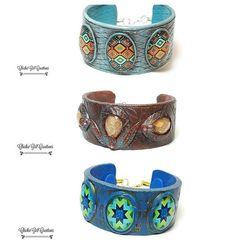 flic.kr/p/Uc6seT | Cuffs in shop now! Link in profile. #polymerclaybracelet #polymerclaycuff #polymerclay #polymerclayjewelry #bohocuff #bohobracelet #hippiechic #gypsysoul #easycuffs #etsy #etsyjewelry #shophandmade #shopetsy #handmadegifts #giftsforher #giftsforwomen #gif