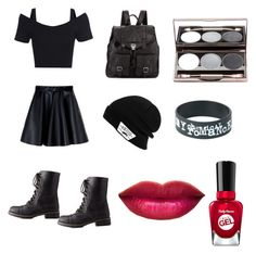 """""""going to school"""" by shantel2006 ❤ liked on Polyvore featuring art"""