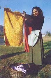 A European-Style Clothespin Apron