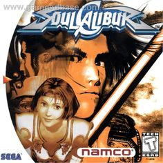 Soul Calibur - Sega Dreamcast (1999)  One of the best launch titles for any system, anywhere. My interest in fighting games waned after the early-mid nineties trend began to wear off. But this game sucked me right back in with amazing combos, graphics, controls and sound.  And I actually 100% completed this game which is something I don't do to often. The soul still burns...