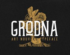 Grodna is a font inspired by the posters used in the beginning of the 1900`s in Oradea, which is considered to be the Center of art Nouveau .It is a tall, condensed sherif font with sharp brackets, short arms with a slight curve at the end. The bars are at a rising angle from left to right, and it has a straight spine with 90 degree turns. The weight of the lines does not vary across the elements, its medium sized everywhere. All this comes together and forms a font with clean and elegant…