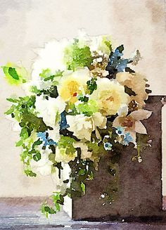 Painted in @waterlogue.